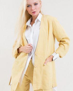 Желтый костюм Maxa