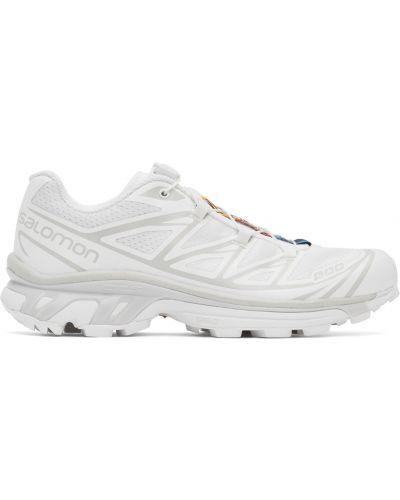 Кроссовки на каблуке - белые Salomon