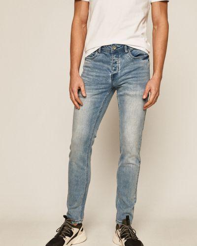 Синие джинсы с карманами на пуговицах Medicine