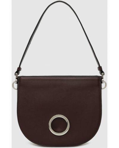 Кожаная сумка - красная Max & Co