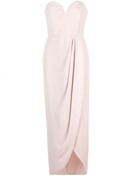 Приталенное платье с запахом на молнии с драпировкой Shona Joy