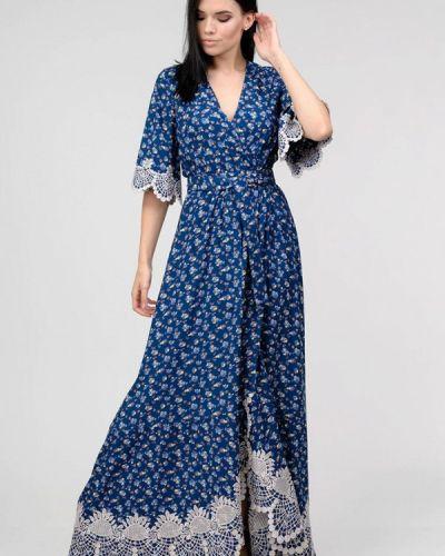 Платье с запахом весеннее Raslov