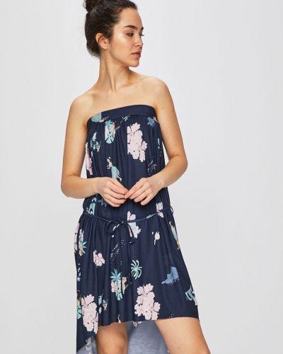 Платье мини прямое синее Femi Stories