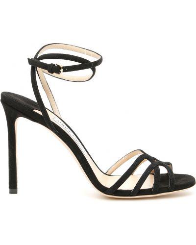 Złote sandały z paskiem Jimmy Choo