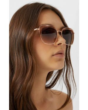 Комбинированные очки металлические Stradivarius