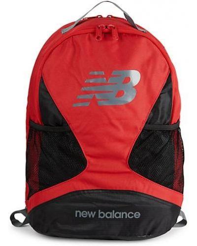 Открытый текстильный рюкзак с карманами New Balance