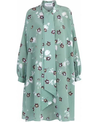 Платье на пуговицах с манжетами Valentino