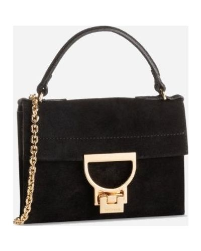 Кожаная сумка Coccinelle