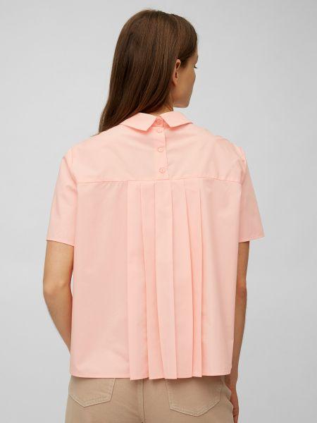 Блузка с короткими рукавами - синяя Marc O'polo Denim