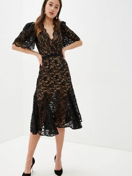 Черное платье With&out