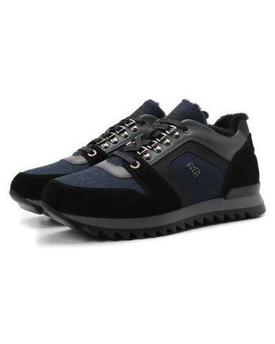 Синие кроссовки немецкие Bogner