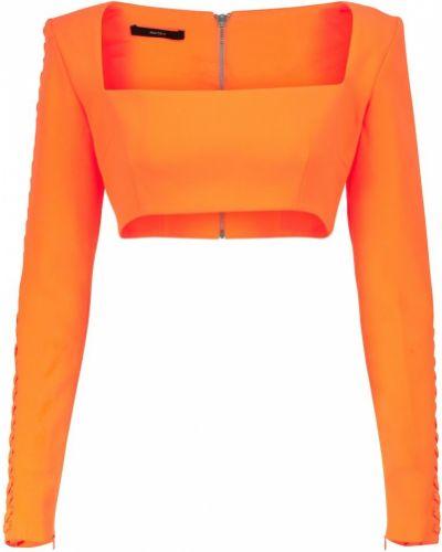 Оранжевый топ летний Alex Perry