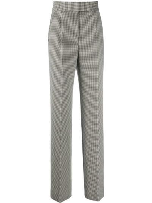 Czarny spodni szerokie spodnie z kieszeniami bezpłatne cięcie Alexander Wang