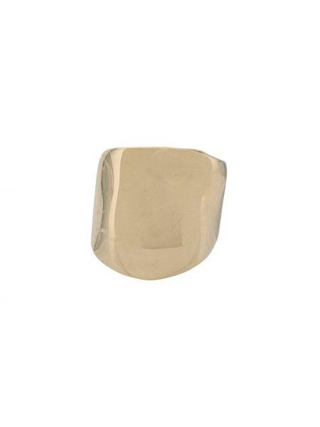Złote kolczyki ze złota asymetryczne Faris