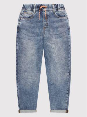 Mom jeans - niebieskie United Colors Of Benetton