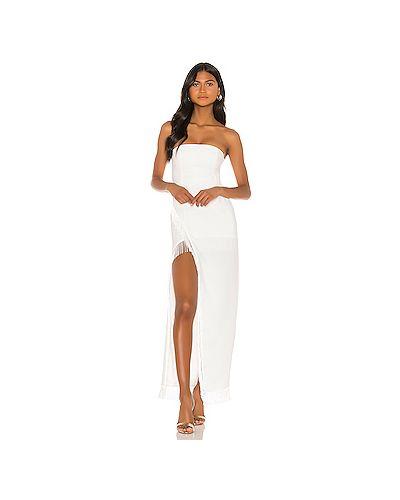 Вечернее платье с бахромой на молнии Majorelle