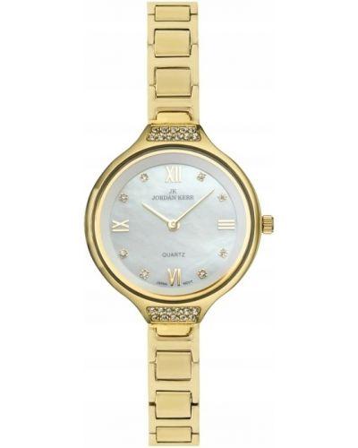 Klasyczny złoty zegarek Jordan Kerr