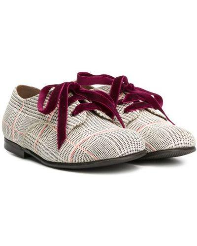 Туфли на каблуке белые Pèpè