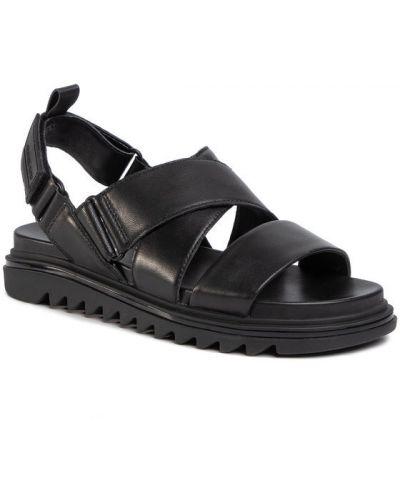 Czarne sandały Michael Michael Kors
