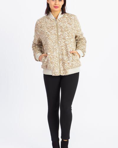 Джинсовая куртка на молнии с карманами Lacywear