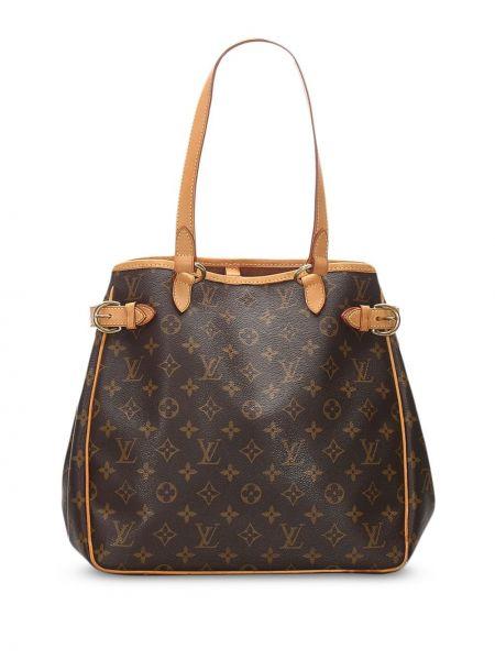 Сумка-тоут с леопардовым принтом с ручками Louis Vuitton