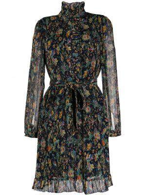 Платье миди на пуговицах с цветочным принтом Tory Burch