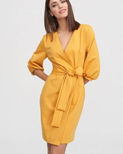 Платье - желтое Evalution