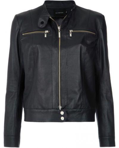 Черная куртка на пуговицах Olympiah
