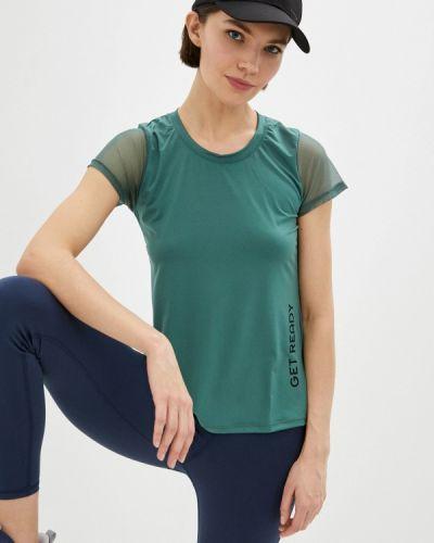 Зеленая спортивная футболка Nativos