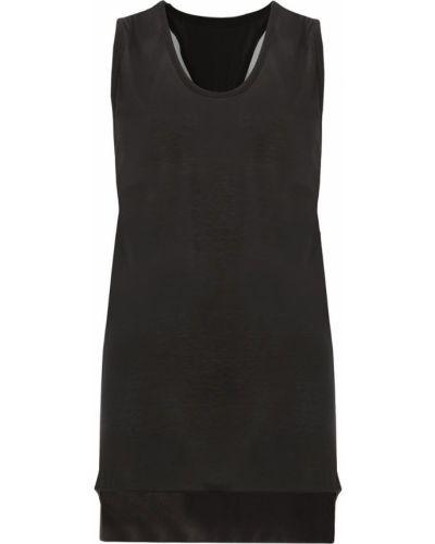 Шелковая черная толстовка Ilaria Nistri