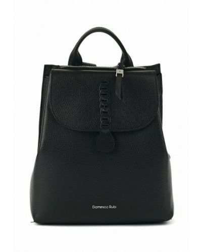 Черный рюкзак городской Dominico Rubi