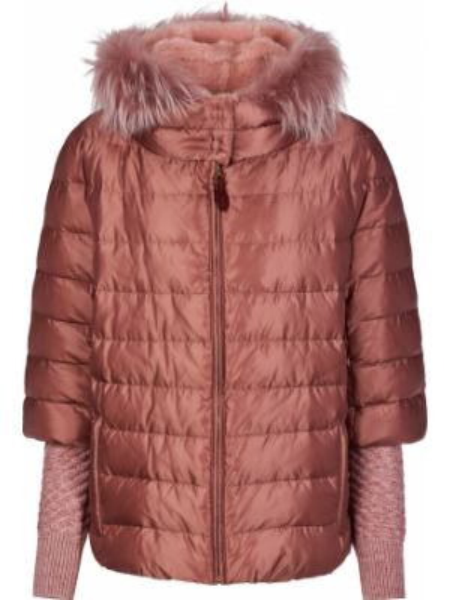 Шерстяная куртка - розовая Gallotti