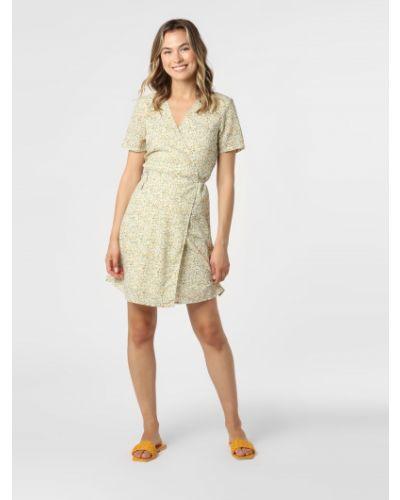 Beżowa sukienka Moss Copenhagen
