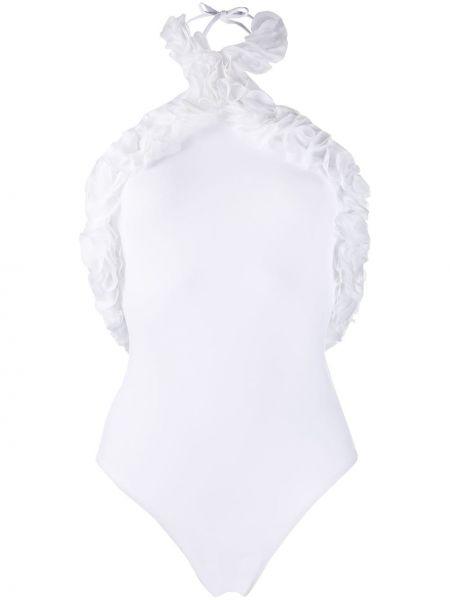 Biały garnitur bez rękawów La Revêche