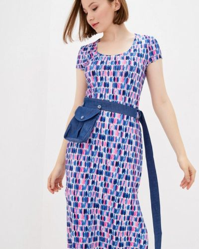 Разноцветное платье Ricamare