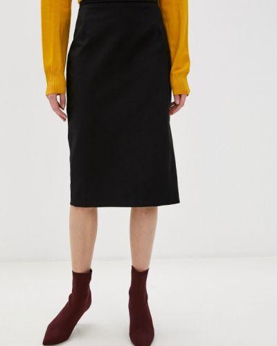 Прямая черная юбка карандаш Charuel