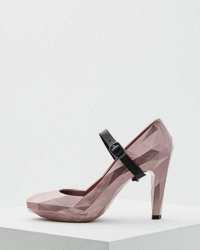 Розовые кожаные туфли с застежкой на лодыжке United Nude