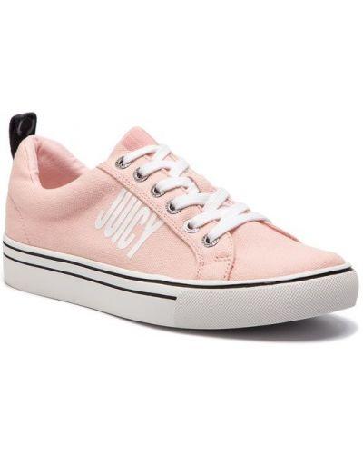 Tenisówki - różowe Juicy By Juicy Couture