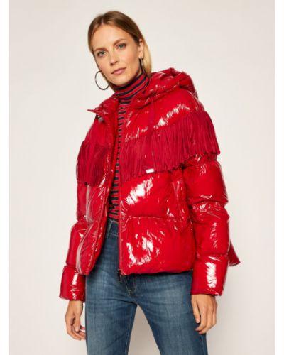 Czerwona kurtka Pinko