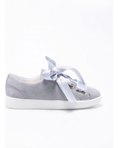 Кроссовки текстильные на шнуровке Gino Rossi