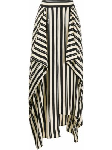 Długa spódnica w paski Loewe