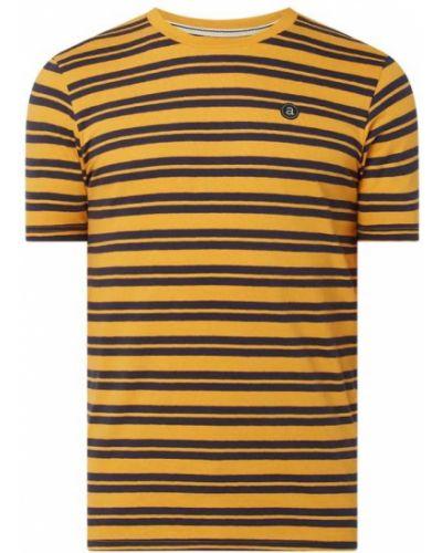 T-shirt w paski bawełniany Anerkjendt
