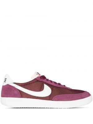 Замшевые кроссовки на каблуке на шнурках Nike