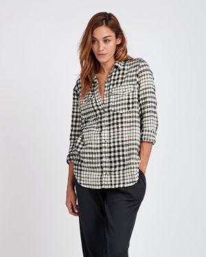 Рубашка с длинным рукавом в клетку деловая Billabong