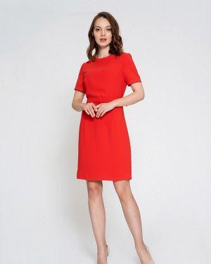 Платье прямое красный Luisa Wang
