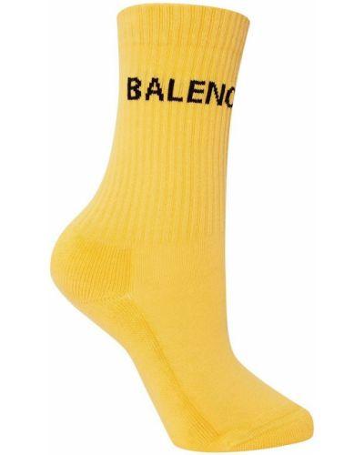 Желтые колготки Balenciaga