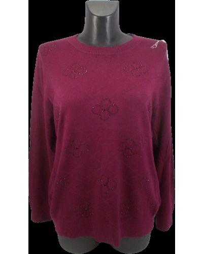 Шерстяной свитер - бордовый Gertie