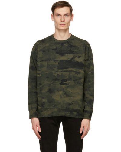 Черный свитшот с вышивкой с длинными рукавами Levi's®