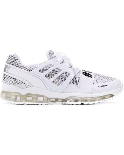 Спортивные кроссовки - белые Plein Sport