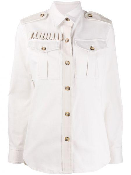 Biała kurtka bawełniana Forte Dei Marmi Couture